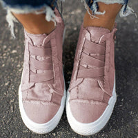 Fashion Blowfish Arch Support Canvas Shoes