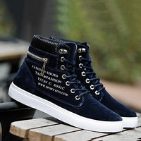 Fashion Casual Sport Scrawl Shoelace Men Shoes