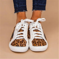 Women's Comfy PU Lace-Up Flat Heel Loafers shoes