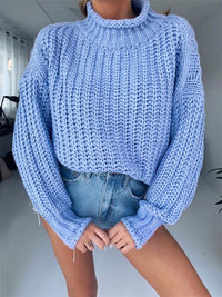 Loose Turtleneck Sweater