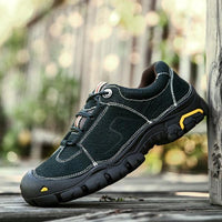 Men Casual Outdoor Non-slip Lace-up Hiking Shoes