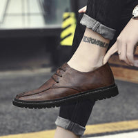 Men's Fashion Casual Artificial Leather Slip on Oxfords