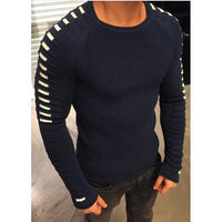 O-Neck Knitted Slim Fit Pullover