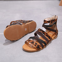 Summer New Arrival Sexy Leopard Sandals For Women