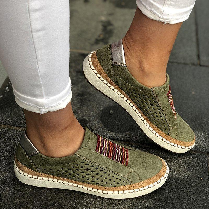 Women's Round Toe Breathable Casual Sneakers