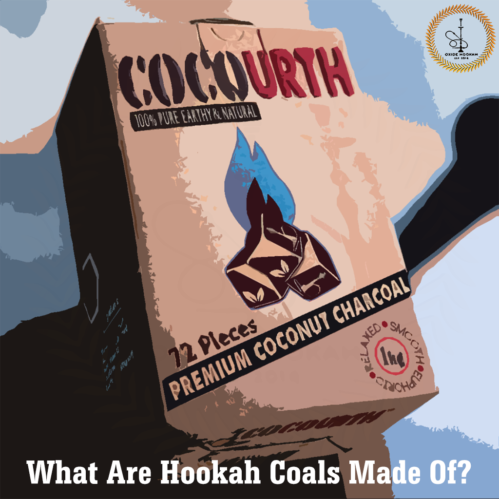 What Are Hookah Coals Made Of