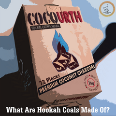 What Are Hookah Coals Made Of?