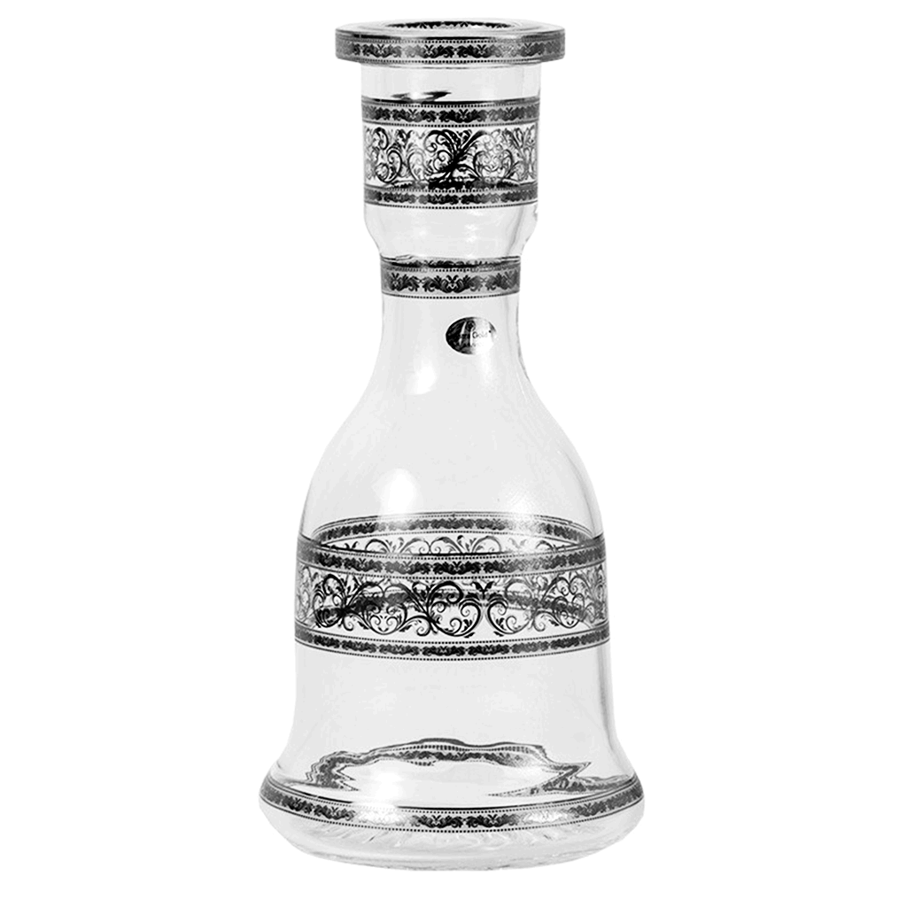 Czech Mate Bohemian Hookah Base - Platinum Allegro