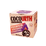 CocoUrth Coconut Mini Cubes 100 Pack, Hookah Charcoal - CocoUrth, Oxide Hookah