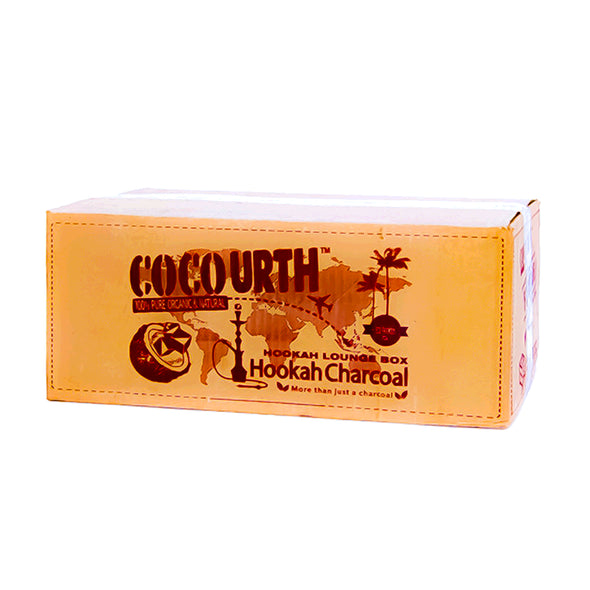 CocoUrth Coconut Coal Lounge Box 10KG, Hookah Charcoal - CocoUrth, Oxide Hookah