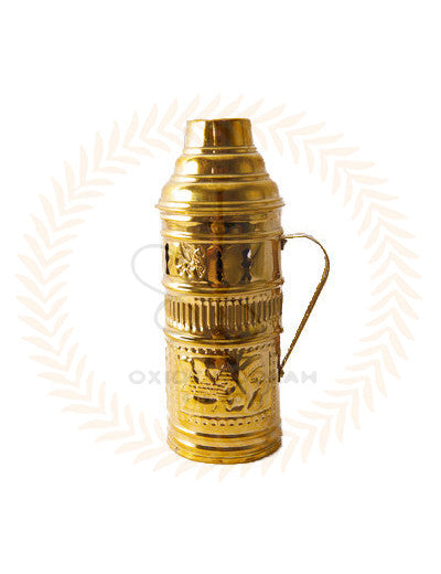 Gold Hookah Wind Cover - Bowl Protector For Charcoal | Oxide Hookah Canada