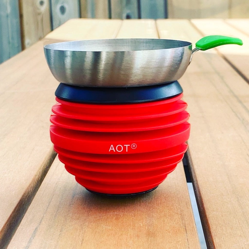 Apple On Top Shisha Tobacco Bowl - Red