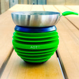 AOT Shisha Bowl by AppleOnTop in Green