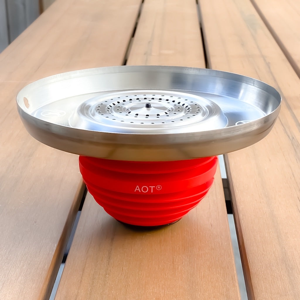 AOT Perch Charcoal Tray For Apple Hookah Bowl