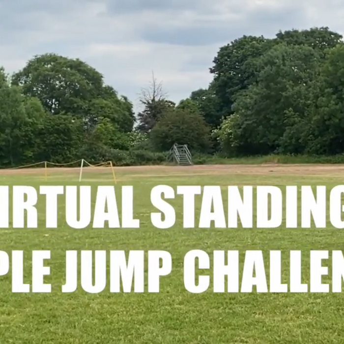 Virtual Standing Triple Jump Competition