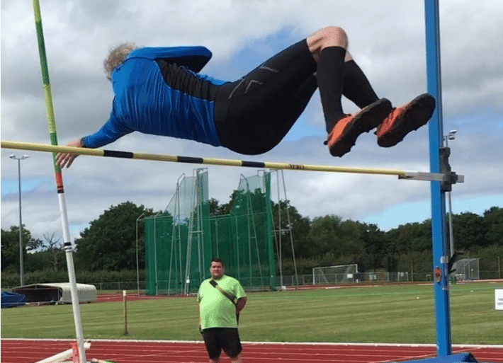 Pole Vault Information   Training in with an athletics club