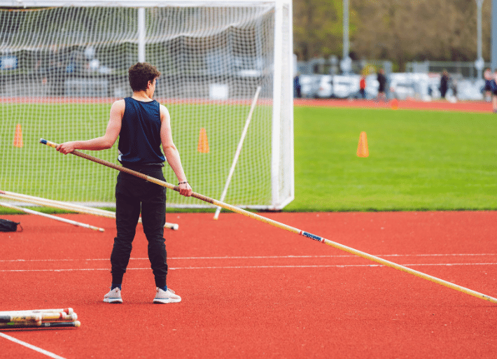 Pole Vault Information   Training with an athletics club