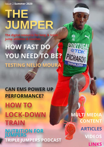 The Jumper magazine cover by John Shepherd.  Edition 2 Summer 2020