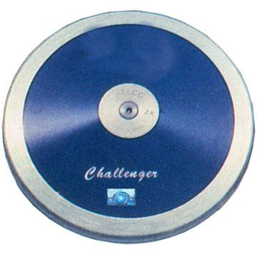 Nelco/ATE Challenger lo spin discus.  The best discus for young athletes
