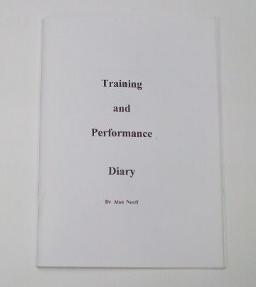 Book Training and performance diary senior