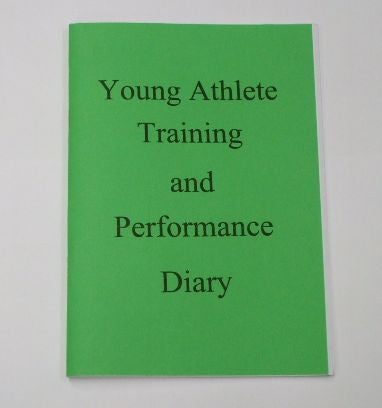 Book Training and performance diary junior
