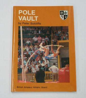 Book Pole Vault written by Peter Sutcliffe