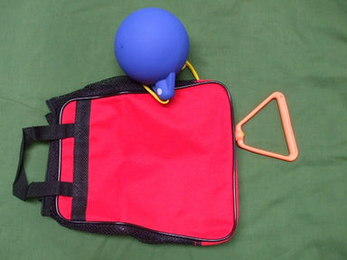 Bag for carrying 4 primary hammers.