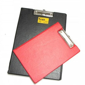 Clipboard with a folding cover to protect papers when not in use.  In A4 or A5