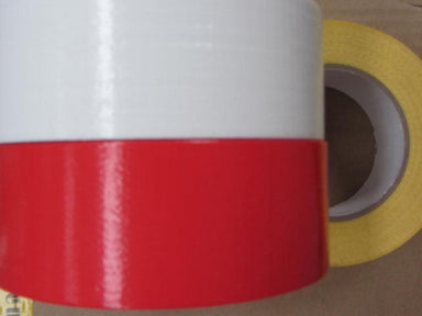 50 metre rolls of coloured gaffa tape.  50mm wide