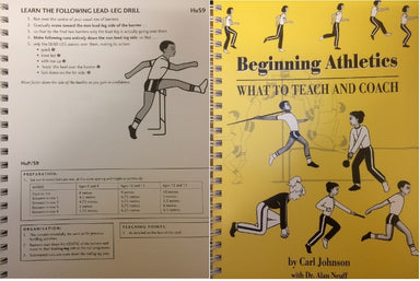 'Beginning Athletics - What to teach and coach' by Johnson & Neuff