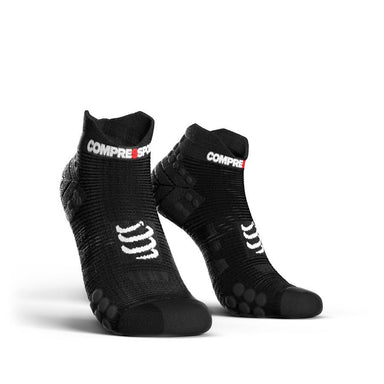 CompresSport Run Lo Socks Black