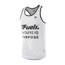 Purpose SFuels EndureIQ racing singlet for hot weather.  Side view