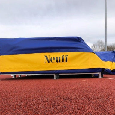 Neuff Pole Vault Landing Area | Side view