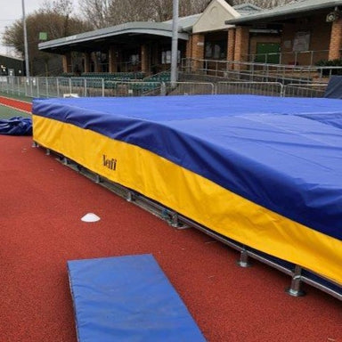 Wear Sheet Spike Cover for Pole Vault Bed Landing Area | Neuff Athletic