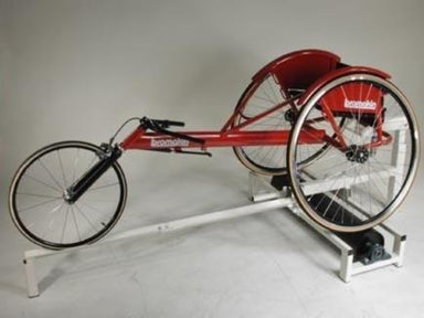 Rolling road indoor trainer for wheelchair training | Para athletics