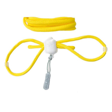 Greeper self tying laces for running - Yellow