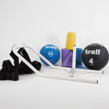 Power Pack 2 | Resistance Power Training Bundle | medicine balls, power sledge, resistance elastic