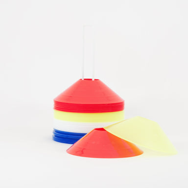 Marker cones/domes on stand set of 40