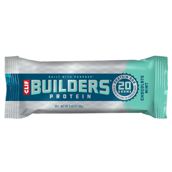 Clif Builder protein bar: Chocolate Mint Flavour