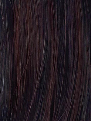 DARK CHOCOLATE MIX 4.33.6 | Dark Brown base with Light Reddish Brown highlights