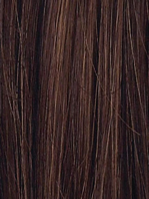 CHOCOLATE MIX 8.30.6 | Medium to Dark Brown base with Light Reddish Brown highlights