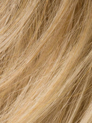 LIGHT CARAMEL ROOTED - 26.19.20 | Light Golden Blonde, Butterscotch Blonde, and Medium Honey Blonde Blend with Dark Roots