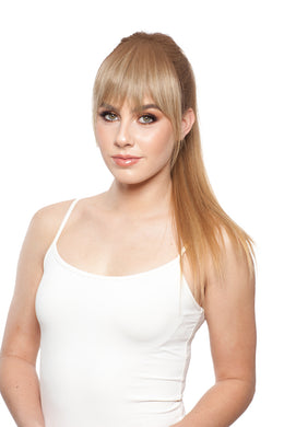 WIG PRO ADD ON FRINGE HUMAN HAIR HAIRPIECE