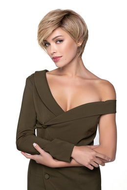 TRESSALLURE ANGLED PIXIE HEAT FRIENDLY SYNTHETIC WIG