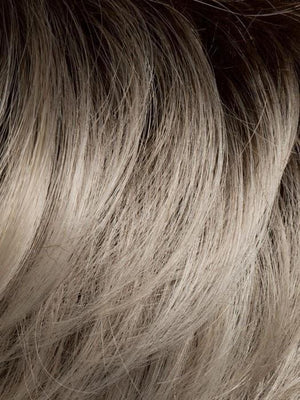 LIGHT-CHAMPAGNE-ROOTED - 23.24.14 | Platinum Blonde, Light Golden Blonde, Light Ash Blonde blend and Dark Roots