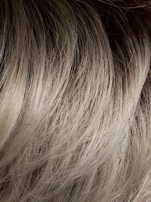 LIGHT-CHAMPAGNE-ROOTED 23.26.25 | Pearl Platinum and Light Golden Blonde Blend with Medium Brown Roots