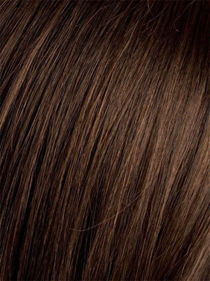 DARK-CHOCOLATE/MIX | Warm Medium Brown, Dark Auburn, and Dark Brown blend