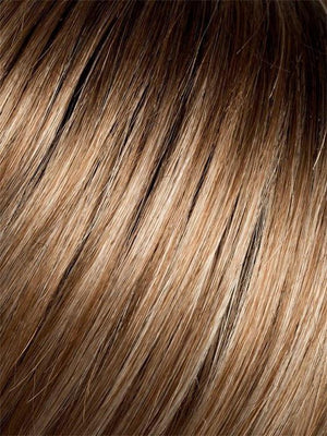 DARK-SAND-MIX | Light Brown base with Lightest Ash Brown and Medium Honey Blonde blend with Dark Roots