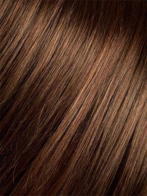 HOT-CHOCOLATE-MIX 30.33.4 | Medium Brown, Reddish Brown, and Light Auburn blend