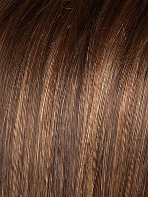 Color Hot-Mocca-Mix = Medium Brown, Light Brown, and Light Auburn blend